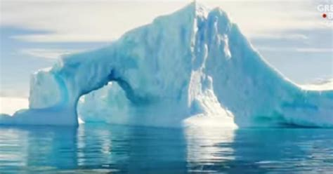 Melting of Greenland ice sheet due to global warming