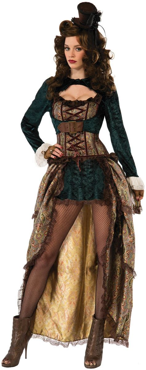 Madame Steampunk Adult Costume - PartyBell