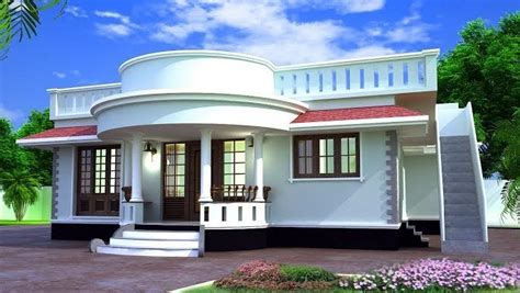Modern Single Storied Home Designs 1000 Sq Ft