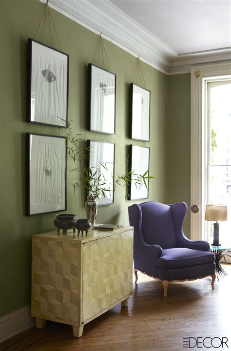 32 Green Rooms That'll Make You Feel Alive | Living room