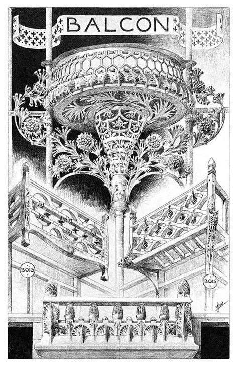 Balcony – Old Book Illustrations