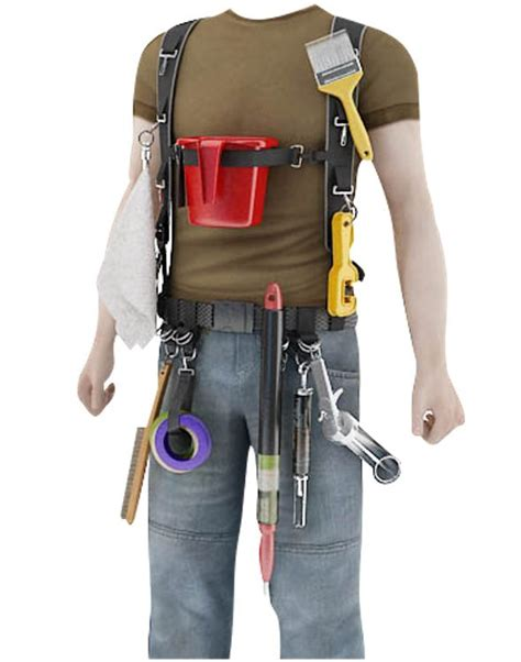 King's Harness Painter's Tool Belt and Suspenders