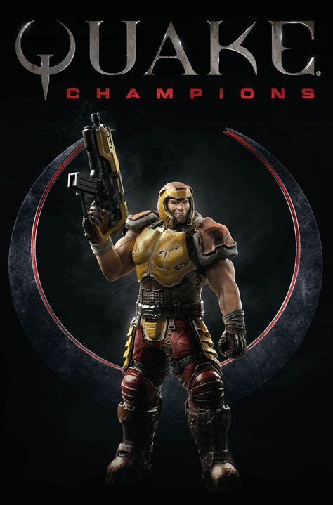 A first look at the Quake Champions comic character art | Look