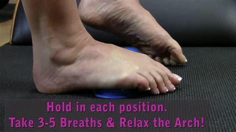 Foot Savers: Exercise to Relieve Foot Muscle Stress - YouTube