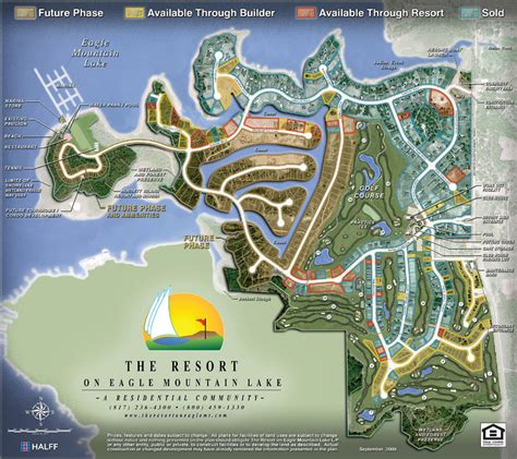 The Resort on Eagle Mountain - Site Map - Fort Worth Golf