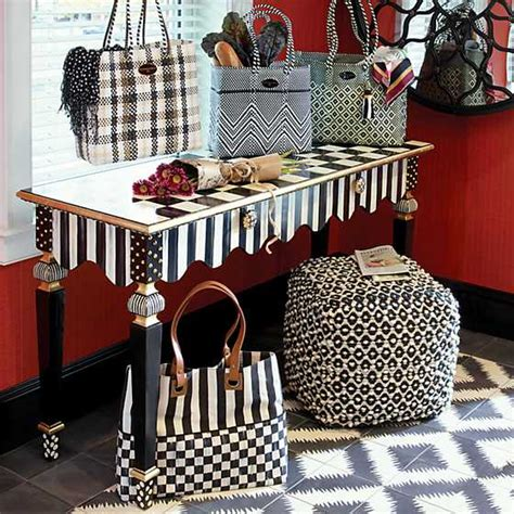 MacKenzie-Childs | Courtly Check Bistro Tote