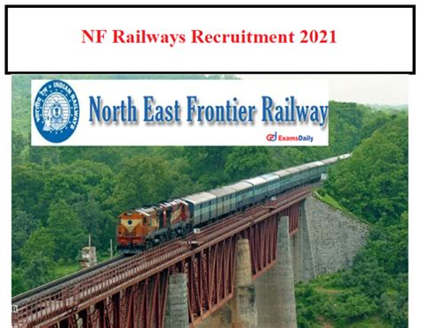 NFR Railway Recruitment 2021 OUT – 350+ JE & Other
