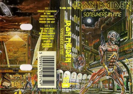 Iron Maiden - Somewhere In Time (1986, Cassette)   Discogs