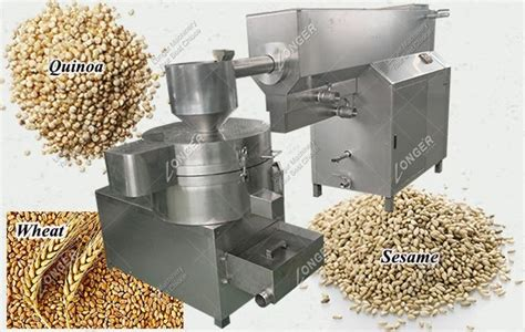 Factory Price Quinoa Seed Washing Machine With Dryer LGS Model