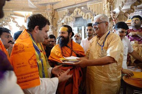 Rahul Visits 4 Temples, Congress Says it is to 'Counter
