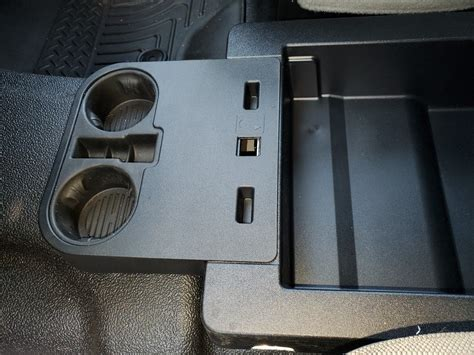 Front middle seat lower cup holders - Page 2 - Ford Truck