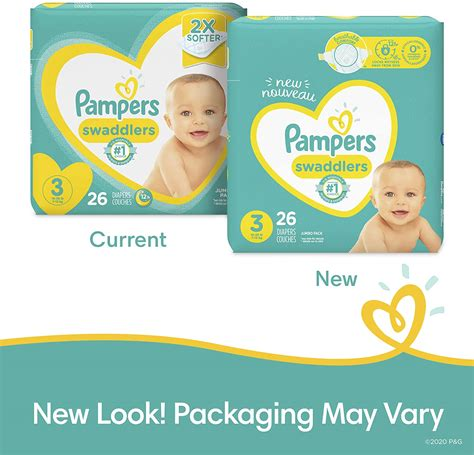 Diapers Size 3, 168 Count – Pampers Swaddlers Disposable