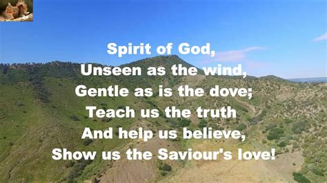 Spirit of God unseen as the wind Chords - Chordify