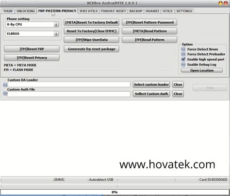 How to use NCK Pro Box to bypass FRP on Mediatek devices