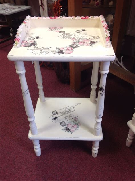 Decoupage with tissue paper | Decoupage furniture