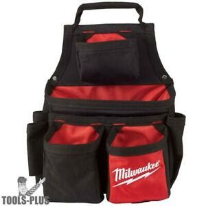 Milwaukee 48-22-8121 17 Pocket Carpenters Pouch New