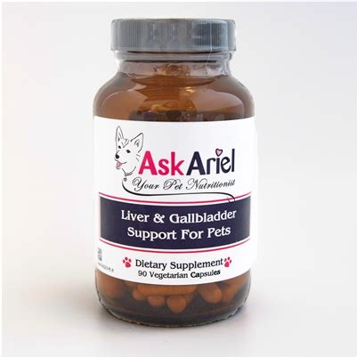 Milk Thistle For Dogs & Cats   Liver Support Supplement