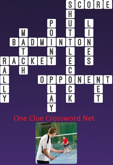 Badminton - Get Answers for One Clue Crossword Now