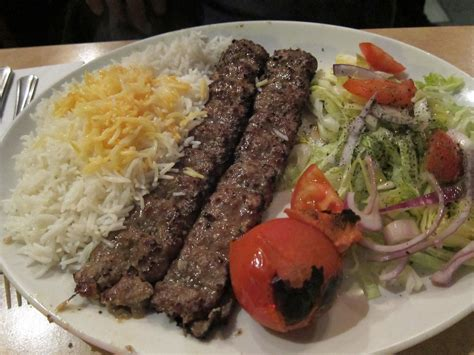 Chelo Kabab Koobideh   The kababs were excellent! Dinner