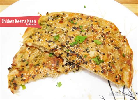 Chicken Keema Naan Recipe (with Step by Step Pictures