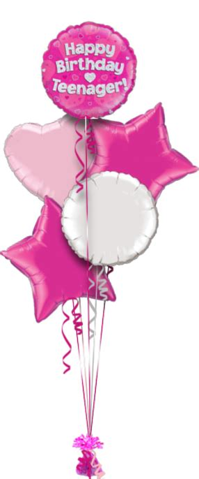 Happy Birthday Teenager Special Age Balloon Delivery
