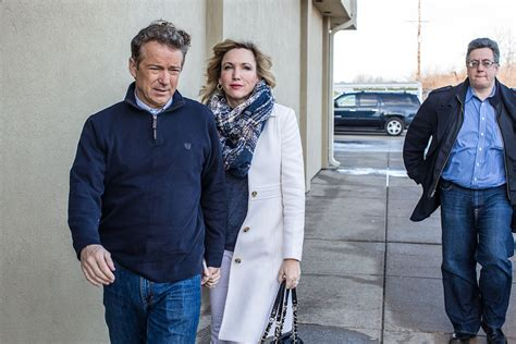 Rand Paul's Wife Says She Sleeps With Gun After Receiving