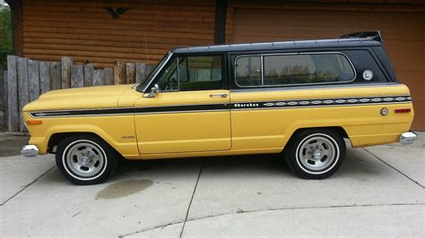 One Owner: 1975 Jeep Cherokee Sport