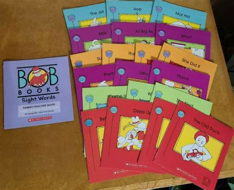 Bob Books Sight Words Collection : Kindergarten and First
