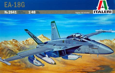 EA-18G Growler Review by Andrew Judson (Italeri 1/48)