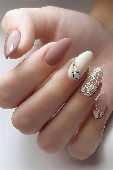 The Best Wedding Nails 2021 Trends   Bride nails, Wedding