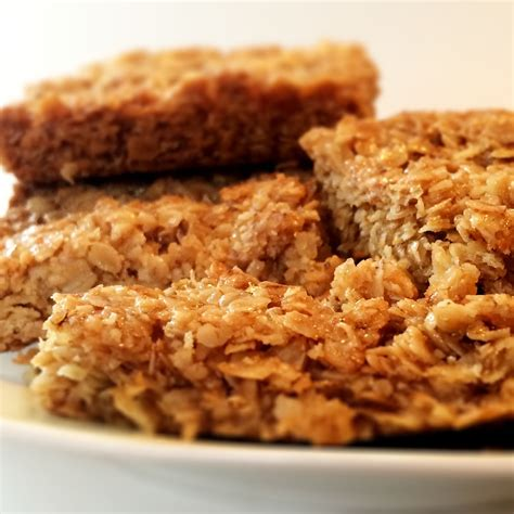 Flapjacks and Shortbread, egg free, nut free and delicious