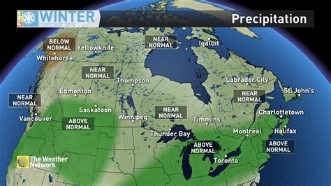 The Weather Network Winter Forecast - My Coast Now