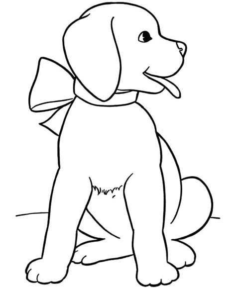Lab Dog Drawing | Free download on ClipArtMag