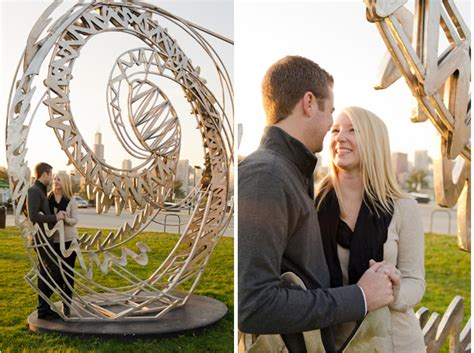 Real Engagement: Bailey + Ben in Chicago – Modernly Wed