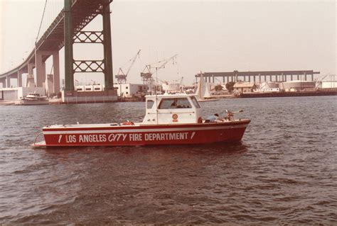 CA, Los Angeles Fire Department Old Maritime Operations
