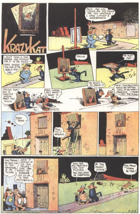 Krazy Kat: It Started with a Brick • Tom Lennon