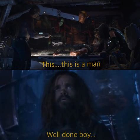 Drax and Eitri have very different opinions on Thor
