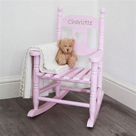 personalised child's rocking chair by my 1st years