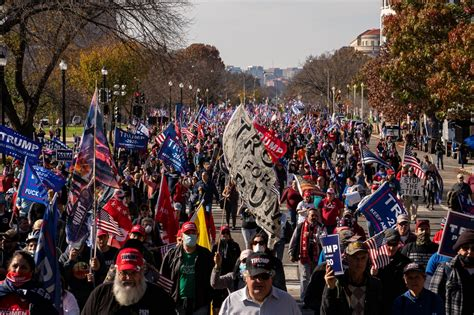 Trump supporters march in Washington, insisting he won