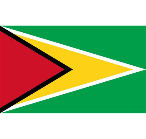 Guyana Flag and Coat Of Arms SVG PNG
