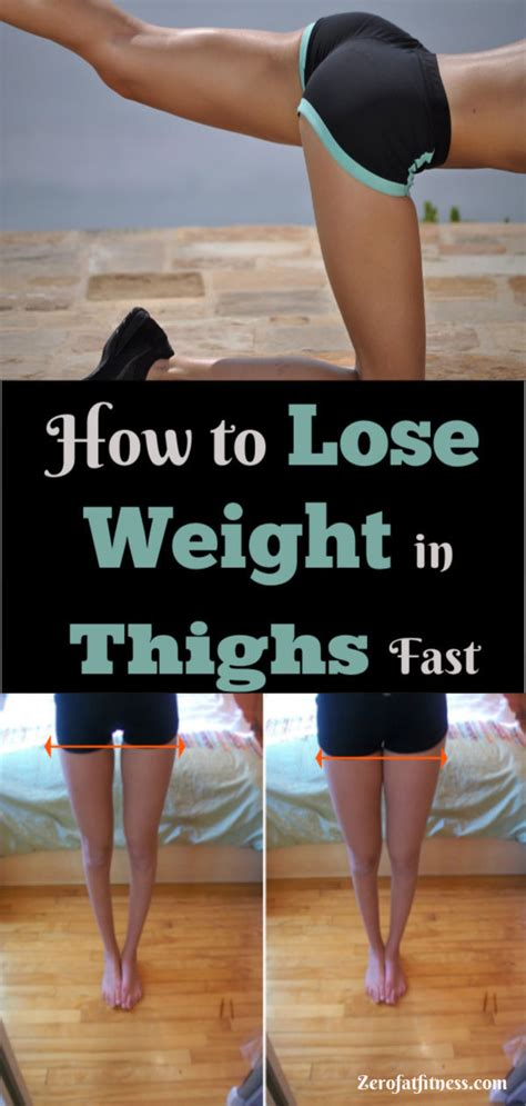 How to Lose Weight in Thighs Fast in 2 Weeks at Home