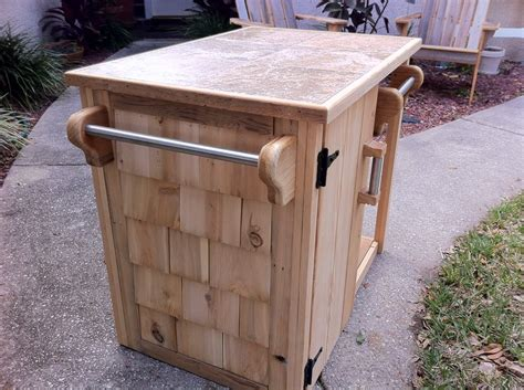 BBQ Cabinet from reclaimed Cypress - by StephenSchaad