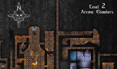 Level 2 Map Coming Along : DungeonoftheMadMage