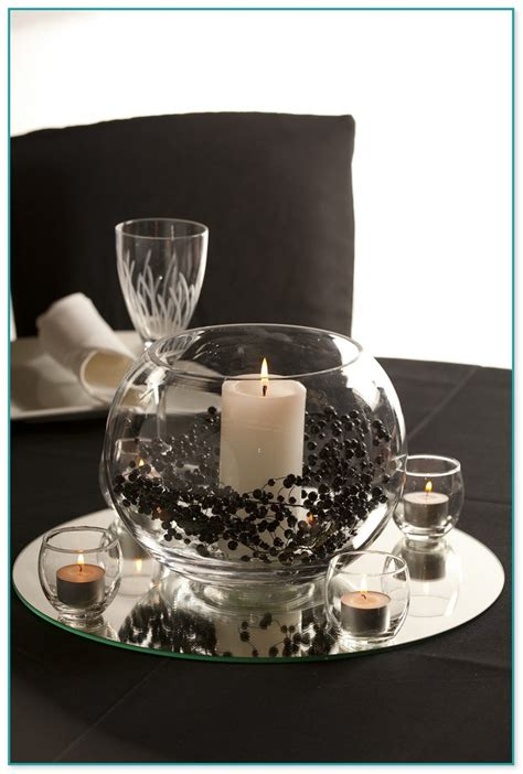 Glass Bowl Table Decorations 2