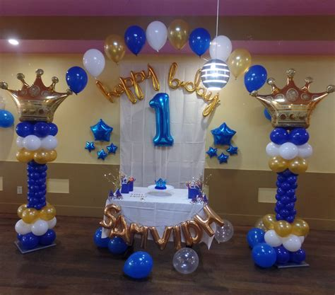 PRINCE THEME FIRST BIRTHDAY - PARTY DECORATIONS BY TERESA